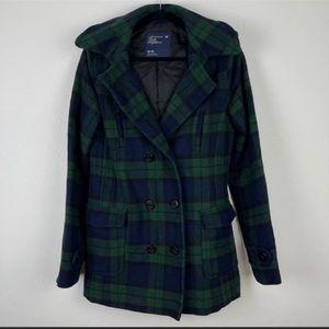 American Eagle Wool plaid Coat